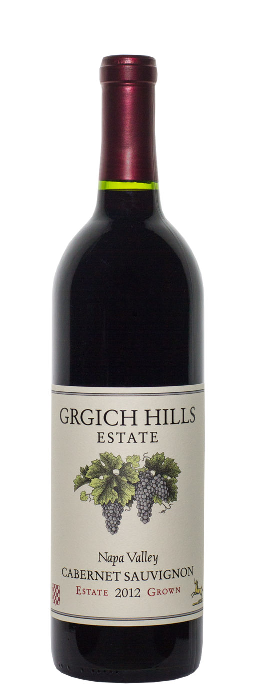 2012 Grgich Hills Cabernet Sauvignon