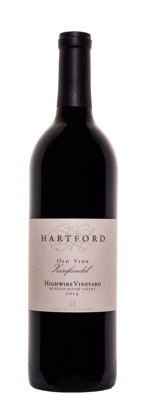 2014 Hartford Old Vine Zinfandel Highwire Vineyard