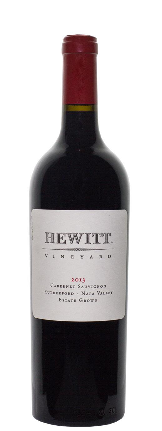 2013 Hewitt Vineyard Cabernet Sauvignon