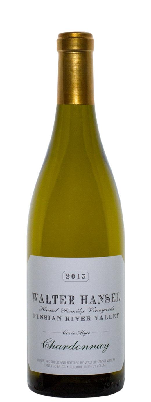 2013 Walter Hansel Chardonnay Cuvee Alyce