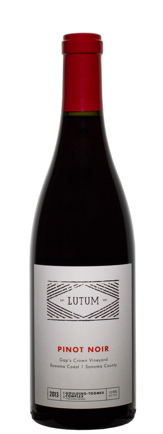 2013 Lutum Pinot Noir Gap's Crown