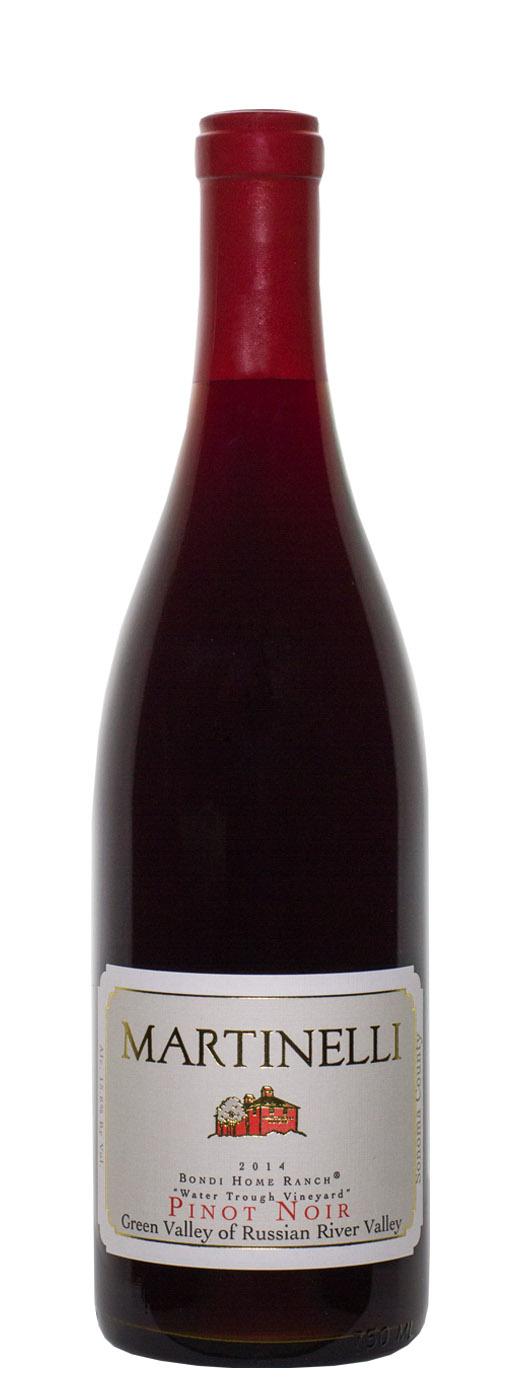 2014 Martinelli Vineyards Pinot Noir Bondi Home Ranch