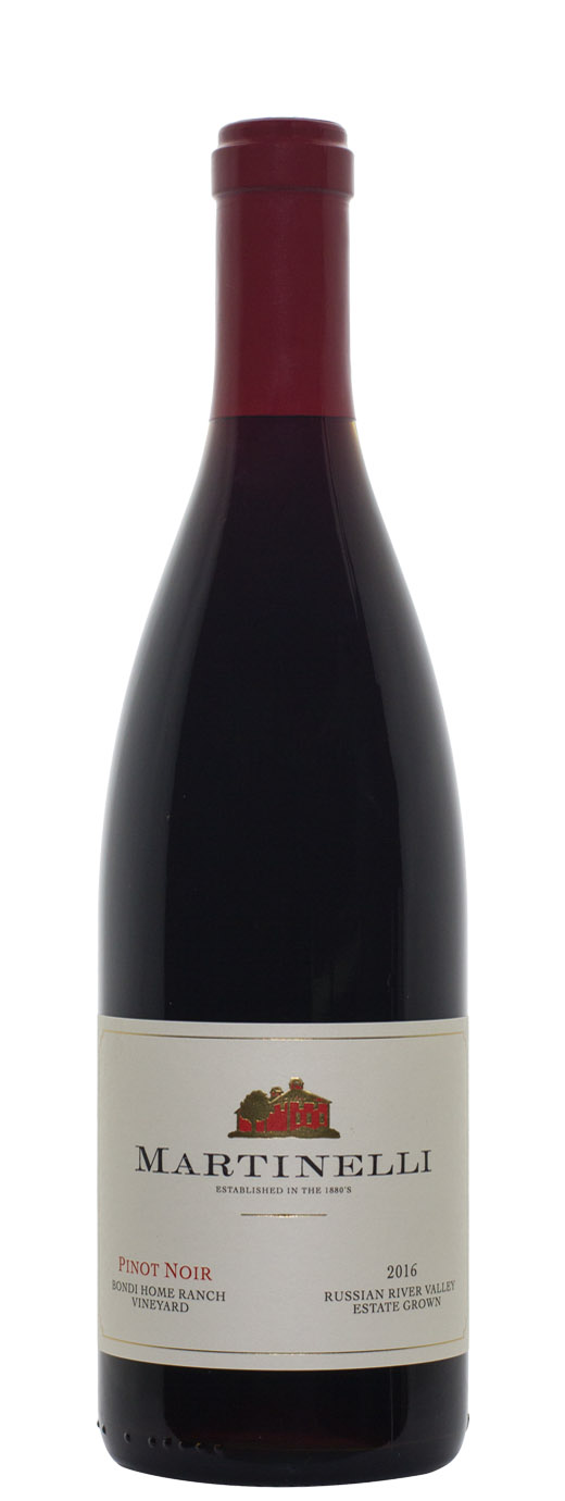 2016 Martinelli Pinot Noir Bondi Home Ranch