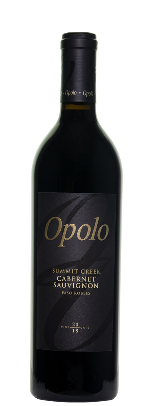 2018 Opolo Vineyards Cabernet Sauvignon Summit Creek
