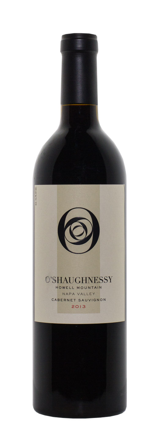 2013 O'Shaughnessy Cabernet Sauvignon Howell Mountain