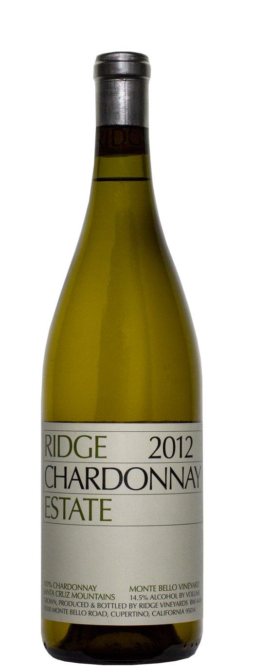 2012 Ridge Estate Chardonnay