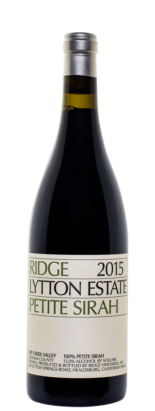 2015 Ridge Petite Sirah Lytton Estate