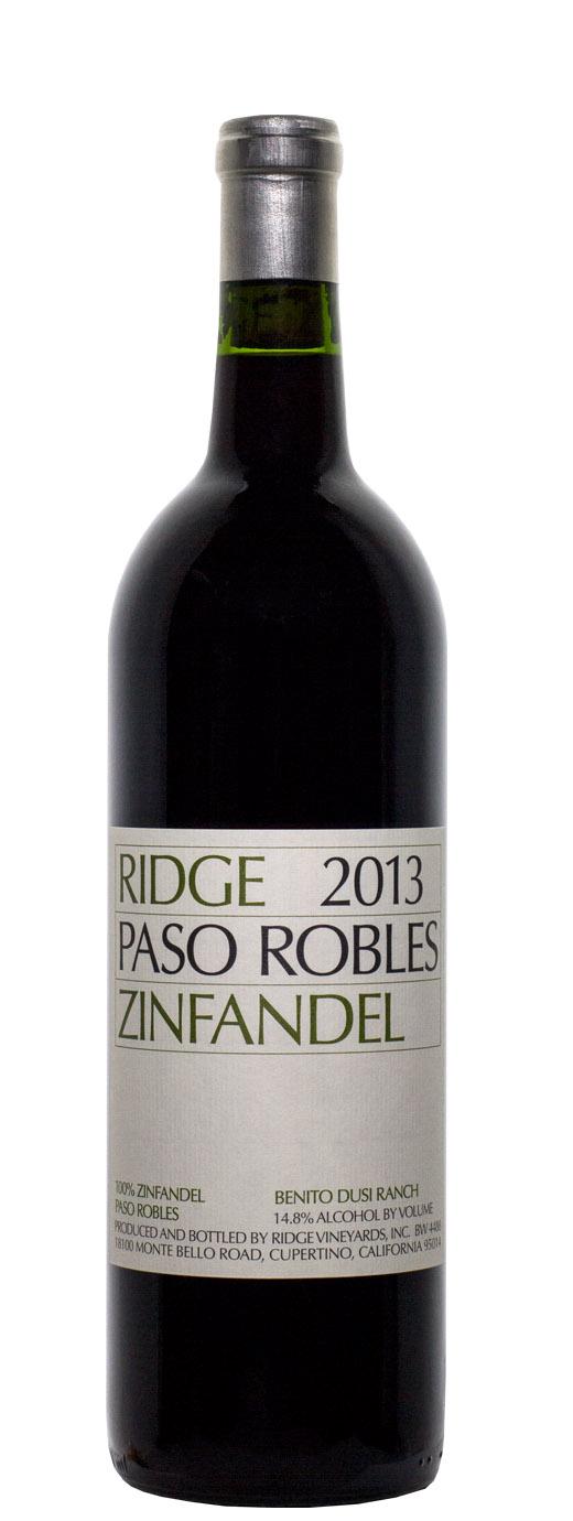 2013 Ridge Zinfandel