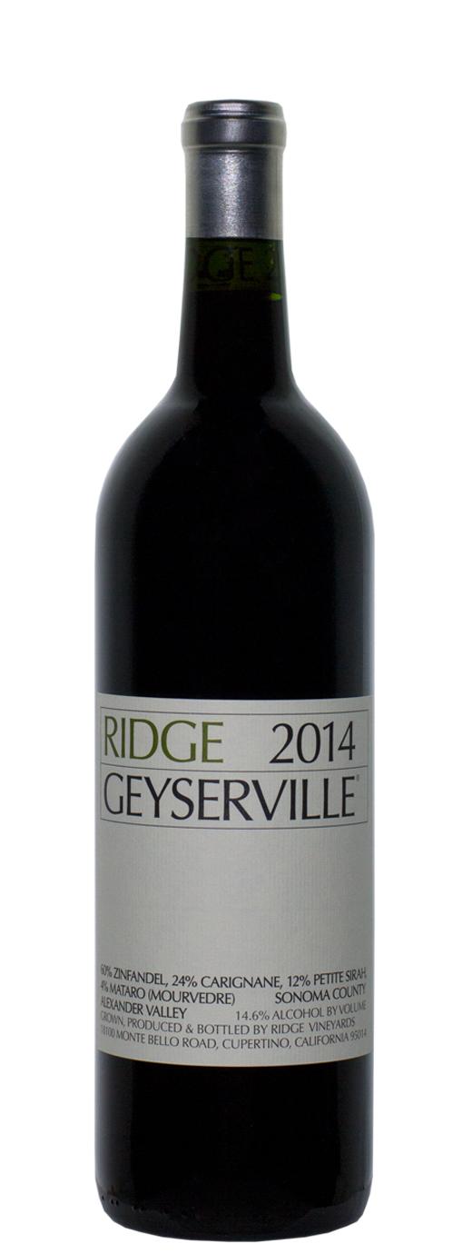 2014 Ridge Geyserville