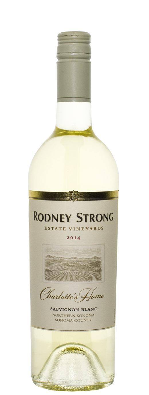 2014 Rodney Strong Sauvignon Blanc Charlotte's Home