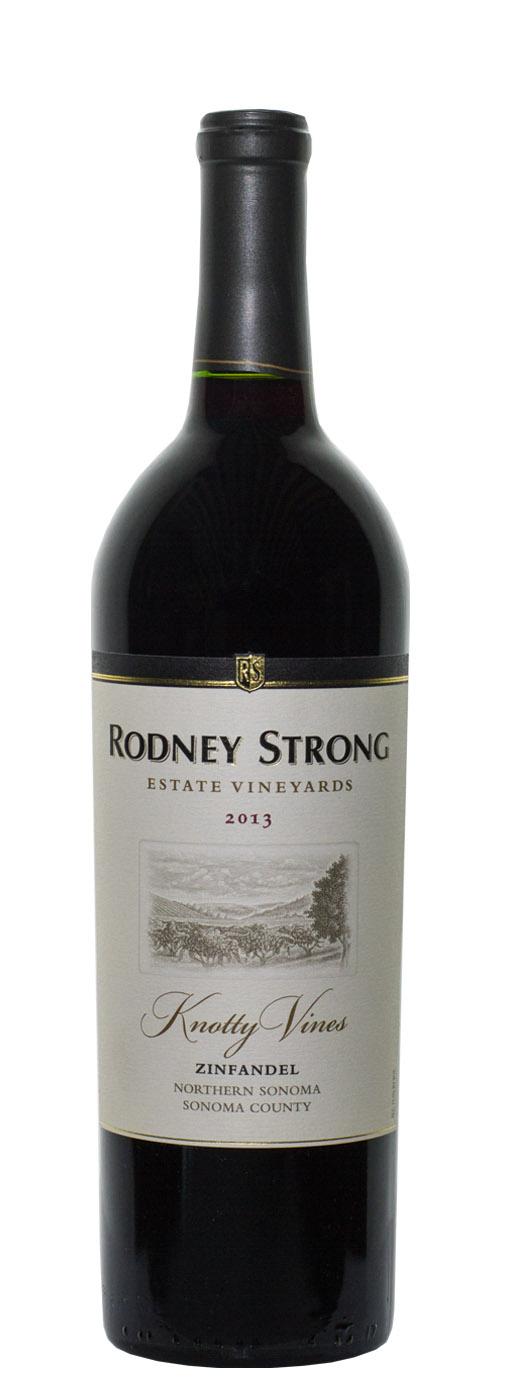 2013 Rodney Strong Zinfandel Knotty Vines