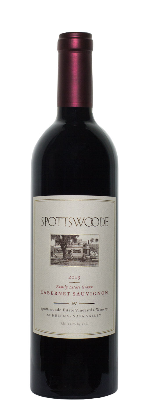 2013 Spottswoode Estate Cabernet Sauvignon
