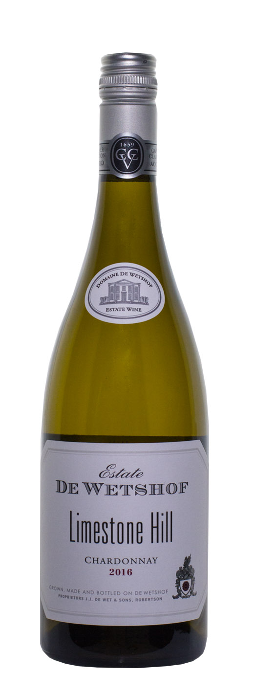 2016 De Wetshof Limestone Hill Chardonnay