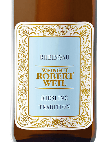 2018 Robert Weil Riesling Tradition