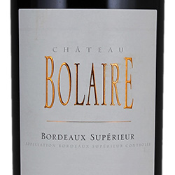 2014 Chateau Bolaire
