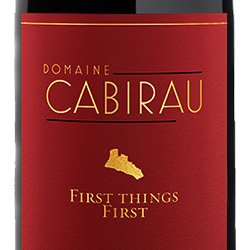 2015 Domaine Cabirau Maury Sec First Things First