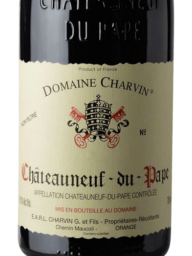 2017 Gerard Charvin Chateauneuf du Pape