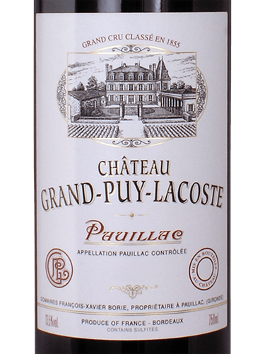 2016 Chateau Grand-Puy-Lacoste