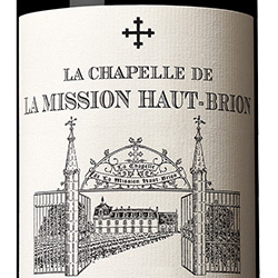 2016 La Chapelle de La Mission Haut-Brion
