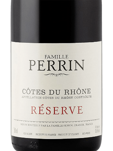 2016 Perrin & Fils Reserve Rouge