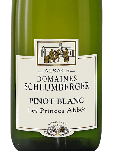 2017 Schlumberger Pinot Blanc Les Princes Abbes
