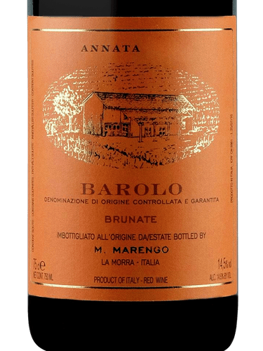 2016 Mario Marengo Barolo Brunate
