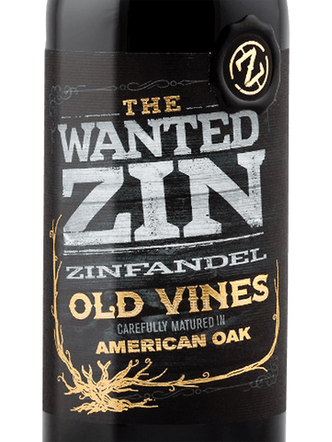 2018 Orion Wines The Wanted Zin Old Vines Zinfandel
