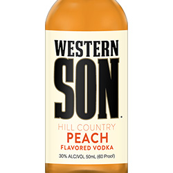 Western Son Hill Country Peach Flavored Vodka
