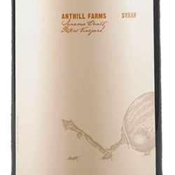 2014 Anthill Farms Syrah Peters Vineyard