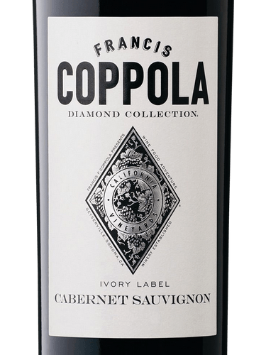 2017 Francis Coppola Cabernet Sauvignon Ivory Label Diamond Collection B 21 Fine Wine Spirits