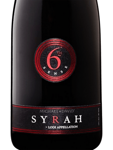 2016 Michael David 6th Sense Syrah