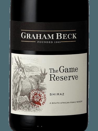 2016 Graham Beck Shiraz The Game Reserve B 21 Fine Wine Spirits